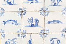 decorating with delft tiles