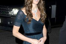 Kate sparkles in diamond necklace at charity fundraiser