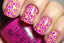 Stamping Nails Art Decals /  stamping nail decal