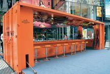 Idée container bar/home