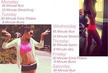 Fitness / WorkOut Ideas / by Caitlyn Chura