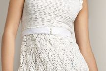 skirts and dresses / knitt and crocheting