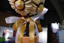 Centrepieces made out of chocolates