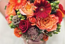 Flowers and Flower Arranging / Hope these bunches of flowers brighten up your day!