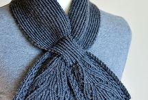 Patrons d'écharpes