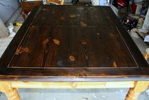 dining table remodel / by Heather Dabe