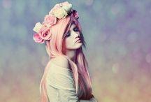 Soft mood / Flower headband / Sweet