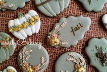 *Fall/T Giving Cookie Ideas