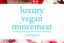 Vegan Christmas / Looking for inspiration for your vegan Christmas feast? Then check out these plantbased dishes.