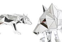 daï_mathieu / Ci-joint quelques referentiels sur la recherche du loup, de l'existant, des simplification de forme, des cuirs moulés, etc.. Un peu de grain a moudre, dites moi quelles pistes vous intéressent...