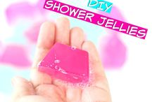 DIY shower gel
