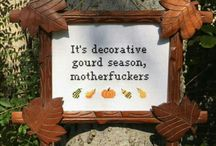 PROJECT: Decorative Gourd Season
