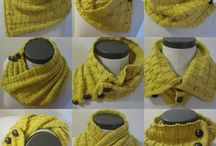 Scarves / Knitted scarf inspiration