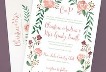 Wedding {invitation} / by Sweet Pea & Roses