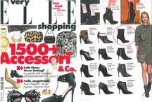 Elle Italia - nila&nila's ankle boot / We are on Elle Magazine Italia sept.2014