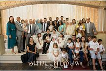 big family shoot at wedding