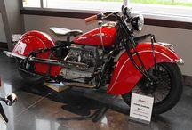 Vintage indian motorfietsen