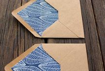 dopisní obálky // mail art