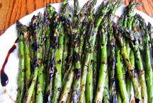 Recept - grönsaker / Sparris