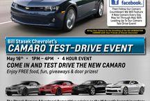 Camaro Test Drive Event