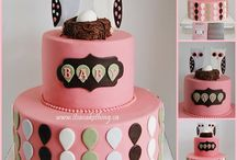 Baby Shower Cakes / Cute cakes for the mama to be and for baby on the way....