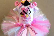 Minnie Mouse Birthday Tutus / Minnie Mouse Birthday | Minnie Mouse Tutus | Minnie Mouse Birthday Party Tutus | Baby Girl Tutus | Minnie Mouse Outfits