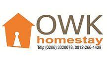 OWK Homestay / OWK Homestay  Permata Hijau Residence Wonosobo Jl. Lurah Sudarto Km. 01 Wonosobo Telp. (0286) 3320078, 0812-266-1429