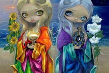 Jasmine Becket-Griffith / Original works of coloring pages