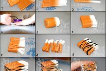 Gyurmaékszer minták