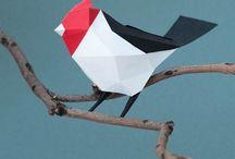 Origamis en liberté ! / Des origamis dans la nature, dans la ville, dans la maison et e jardin...
