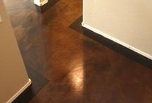 flooring ideas / by Cathy Boyd