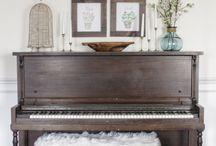 фортепиано декор