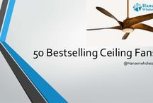 50 Bestselling Ceiling Fans