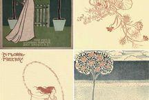 Walter Crane floral