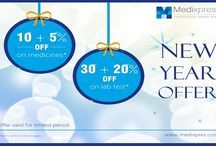 New Year Celebration / Wish you a very happy new year in Advance and Enjoy the health benefits with medixpress
