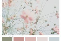 Color Paletes / Colour Paletes to inspire