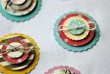 Diy Card Decorations Scrap