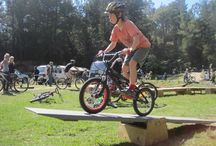 Bike Obstacle Course for Kids