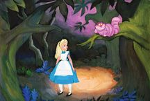Alice in Wonderland: Official Artwork / Curated by the staff at ArtInsights Gallery in Reston