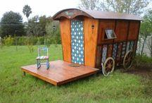gypsy / locally build gypsy accommodation in South Africa Swellendam. fb : Else du Plessis .