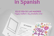 El día de las madres/Spanish Mothers Day / Spanish Mothers Day, El día de las madres: Free Spanish Learning Activities, Spanish Mothers Day Songs, Spanish Mothers Day Videos, Spanish Mothers Day Printables