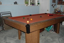 Retired Brunswick Pool Tables / Brunswick tables from the past.