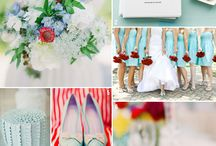 Red and Aqua / by Lux Events and Design