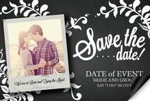 Save the Dates / Prepare your guests for your big day with save the dates that match your wedding theme! / by 123Print Wedding Invitations