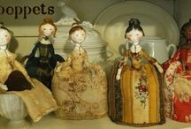Dolls - Small ANTIQUE and Repros