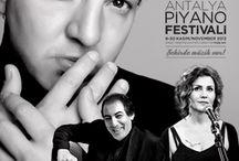 Etkinlikler - Konserler / 14. Uluslararası Antalya Piyano Festivali'ne katılan sanatçılar ve konserleriyle ilgili bilgi bulabilirsiniz