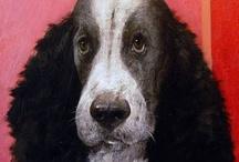 犬のアート