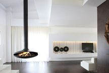 Fireplace or sculpture? / Either way, it's beautiful design demands your attention.