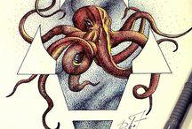 осьминоговые осьминоги