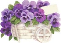 kwiaty do kartek